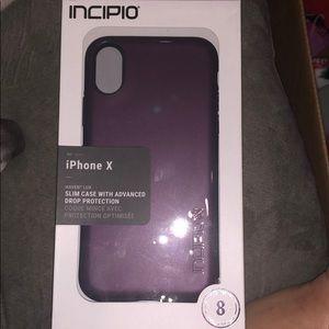 Incipio new iPhone X case